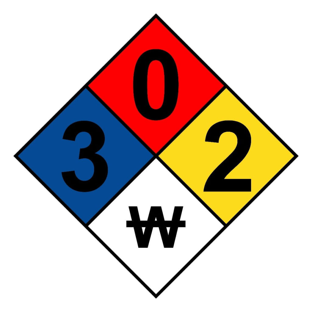 NFPA 704 Hazard Classification System